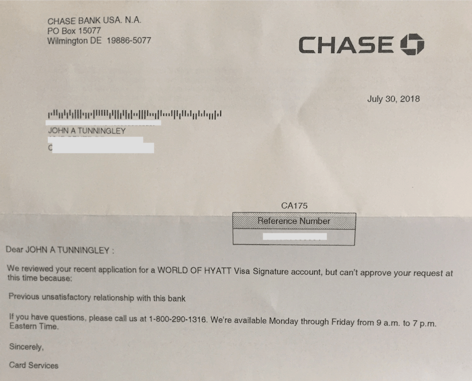 chase review
