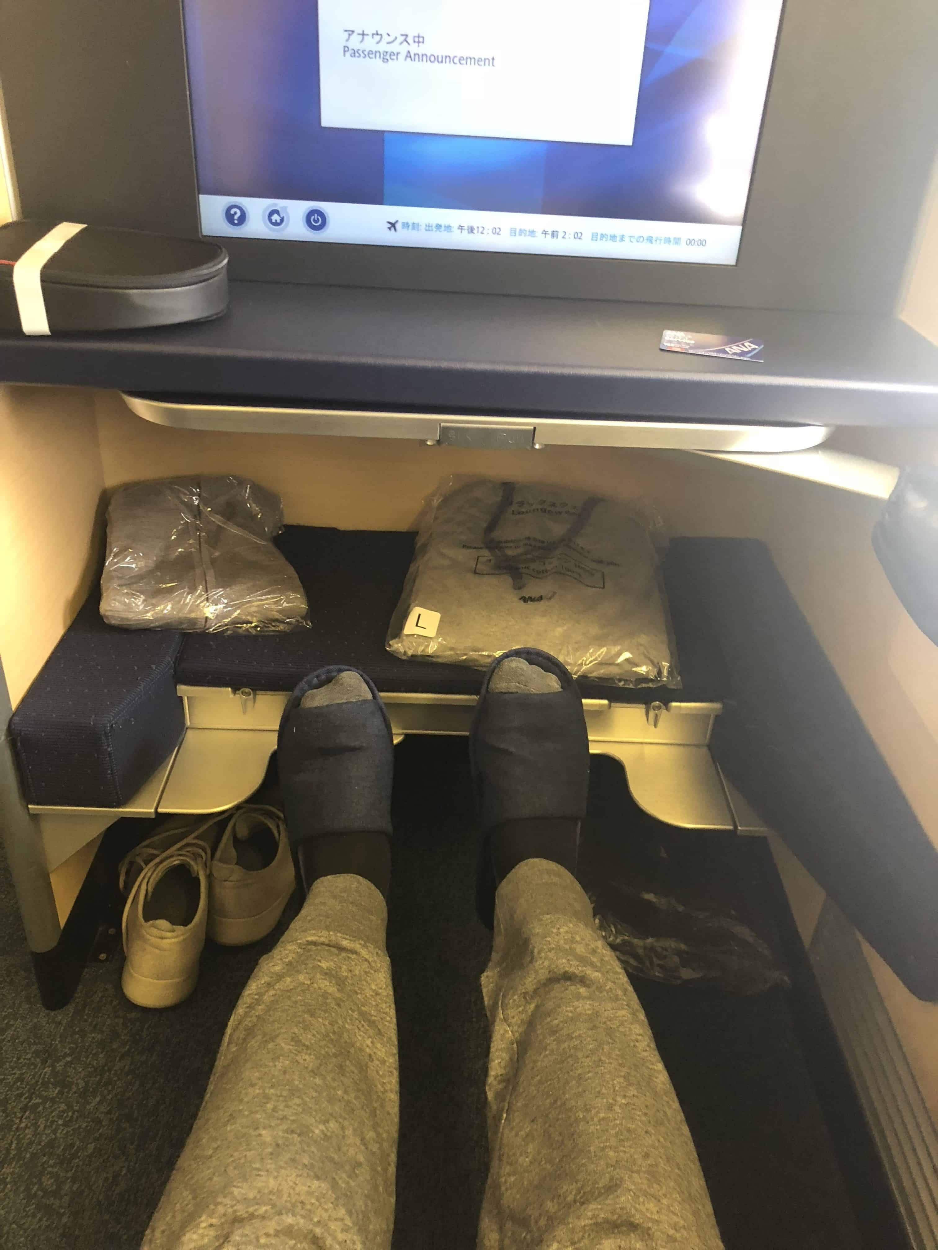ANA First Class Review Houston to Tokyo